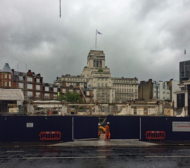 Demolition, Victoria Street