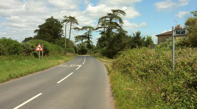 Road past Worcester Lodge