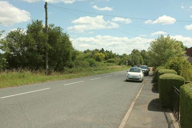 Road at Kinnersley