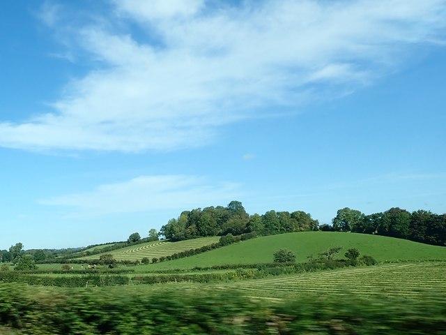Crown Mound above Clanrye River