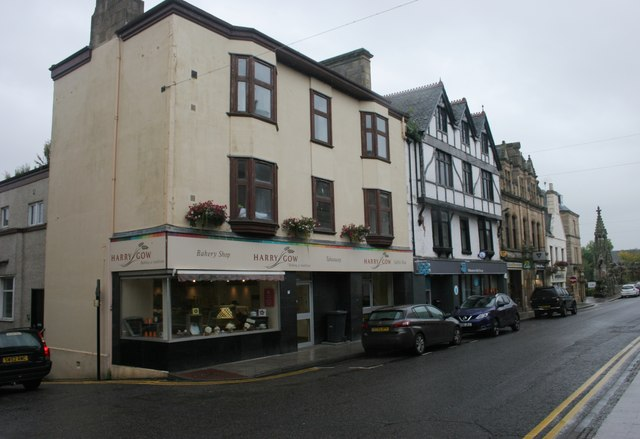 Buildings on High Street, Tain
