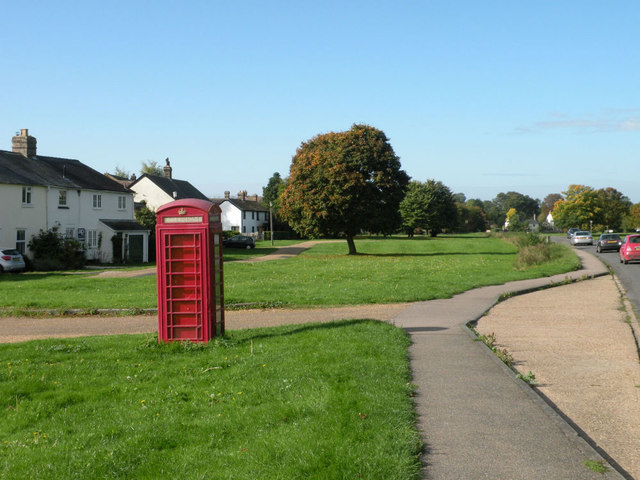 Disused phone box in Barrington