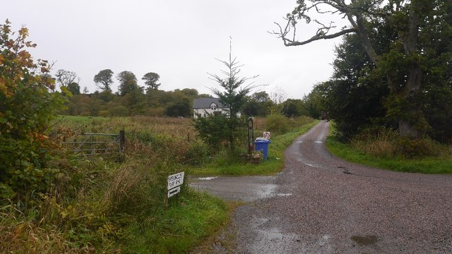 Road junction at Dalchruineach