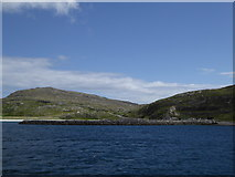 NF7810 : Breakwater for the ferry slip at Eriskay by Alpin Stewart