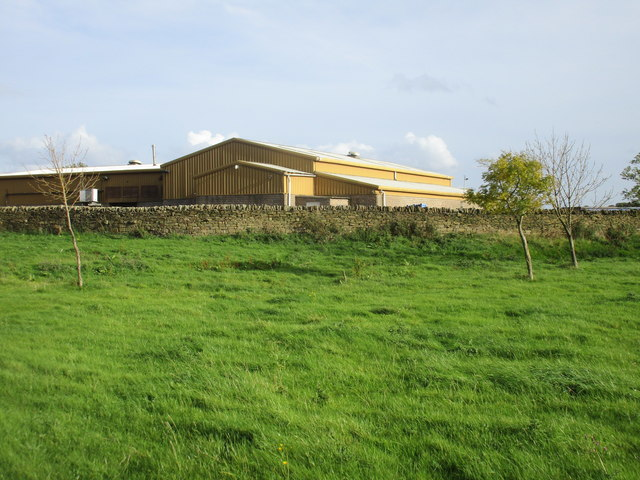 Buildings at Near Coates Farm