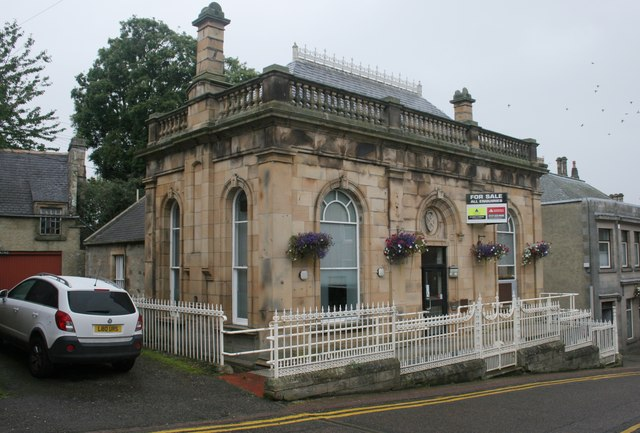 Former Clydesdale Bank, Market Street, Tain