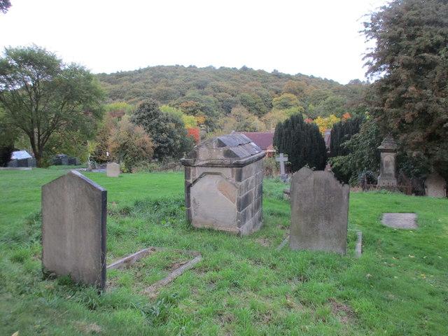 Silkstone churchyard