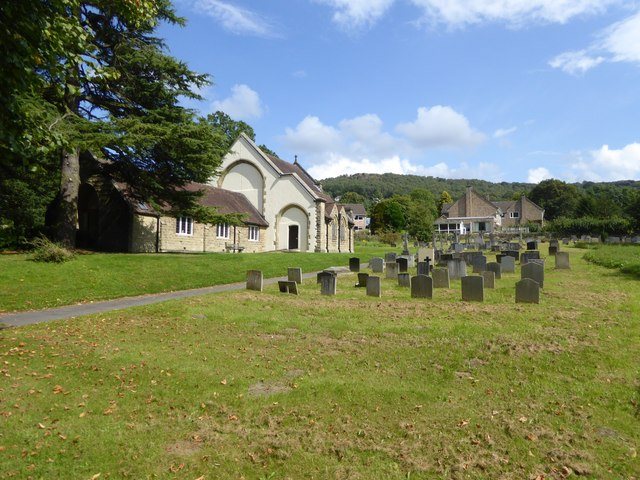 St Helen's church, Grindleford, and churchyard