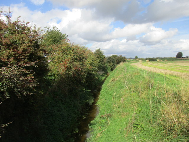 Drain Parallel to the River Hull (New Cut)