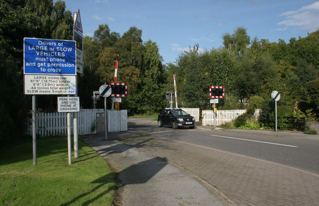 Level crossing, Brodie