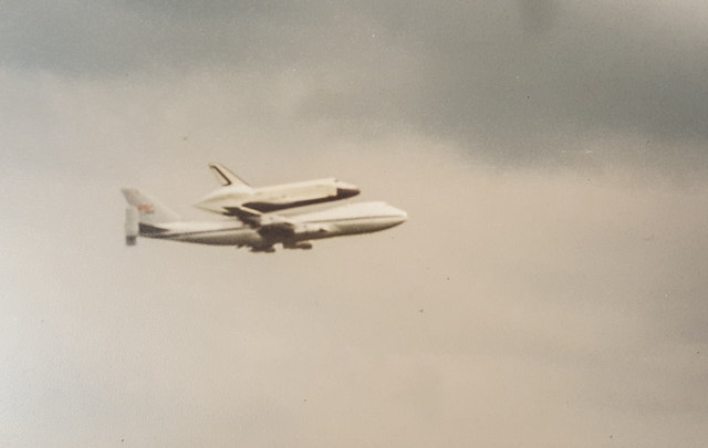 "Space Shuttle ""Enterprise"" at Stansted Airport"