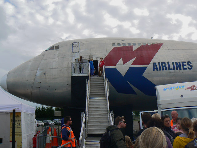 Boeing 747-200, Cotswold Airport, Kemble