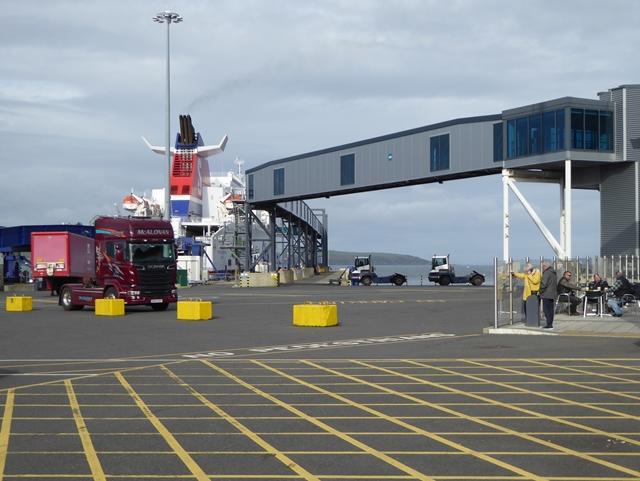 Stena Ferry Port at Cairnryan