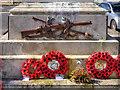 H2344 : Crossed Rifles, Enniskillen War Memorial by David Dixon