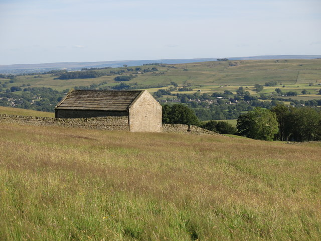 Barn above Hunter's Well House