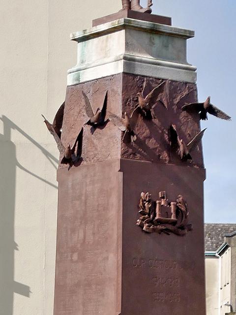 Enniskillen War Memorial (detail)