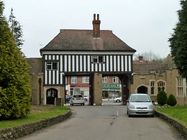 Gate house, Hendon Crematorium and Cemetery