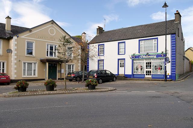Hotel and Pharmacy, Belleek