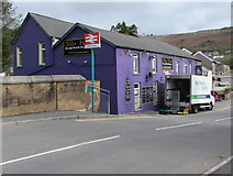 SS9993 : Booker Direct lorry outside the Ivor Hael, Llwynypia by Jaggery
