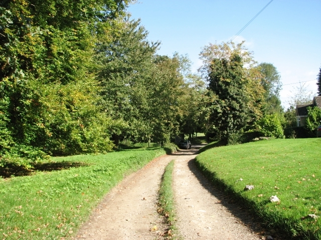 High Common - private road on Swardeston Common