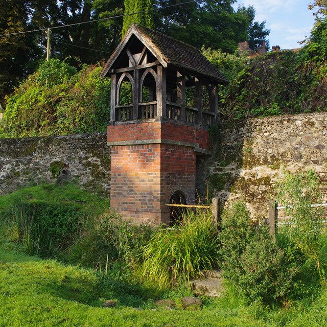 St Ethelburga's Well, Lyminge