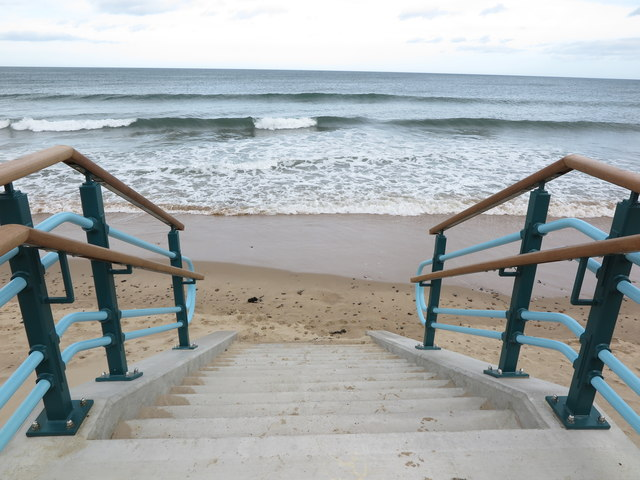 Stairs from Northern Promenade, Whitley Bay
