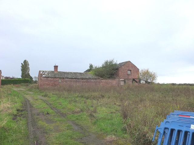 Derelict buildings near Higgins Lane, Burscough