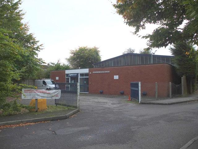 Telephone Exchange on Liverpool Road South, Burscough