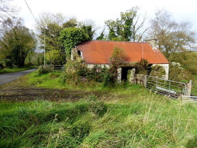 Ruined cottage, Killen