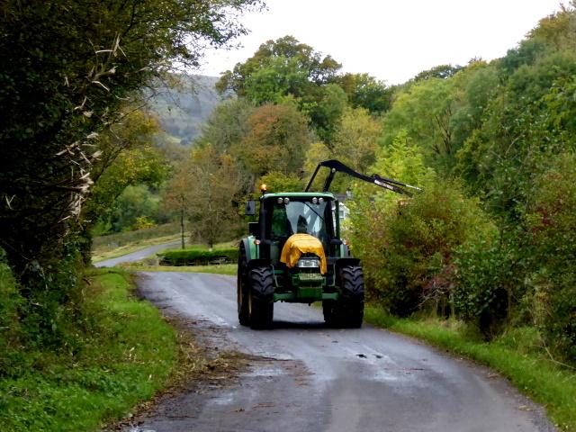 Hedge cutting, Drumquin