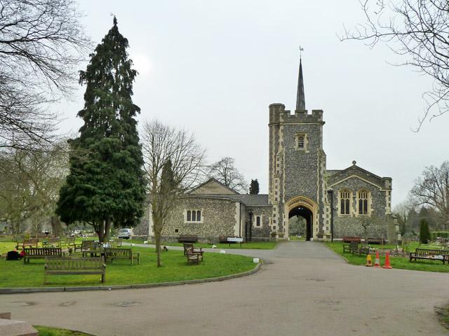 Chapels, Hendon Cemetery and Crematorium