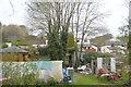 SX2458 : Garden, Badham Farm by N Chadwick