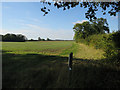 TG1121 : Permissive path by Reepham Road by Hugh Venables