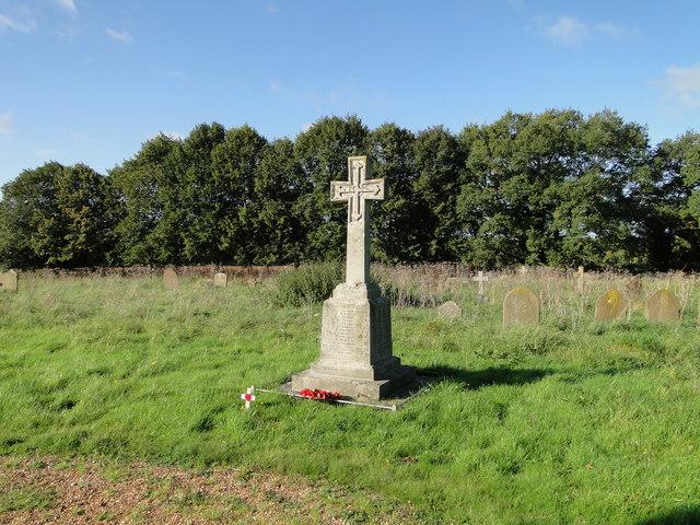 Stow Bedon War Memorial