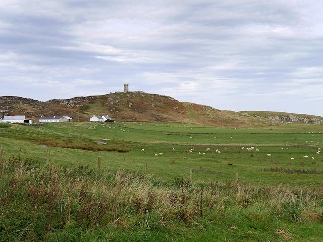 Ballyhillin, View Towards the Signal Tower on Malin Head