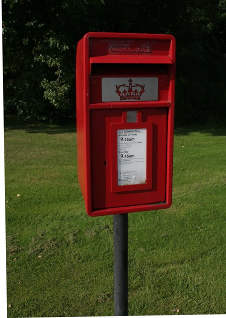 Postbox next to the A96