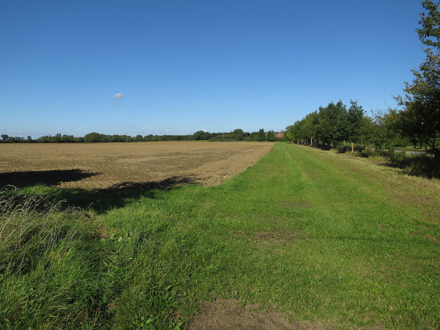 Permissive path by Melton Road
