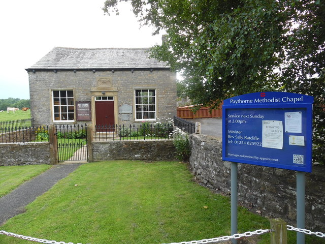Paythorne Methodist Chapel (2)