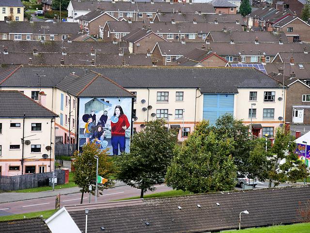Bogside Murals - Bernadette Devlin