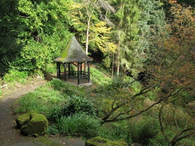 Japanese Garden and Summerhouse, Pittencrieff Park, Dunfermline