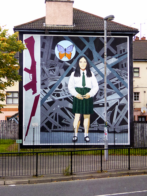 Death Of Innocence - The Annette McGavigan Mural