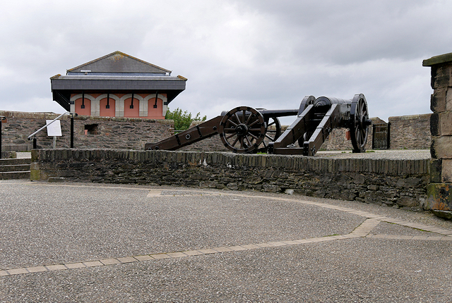 Derry city Walls, The Double Bastion