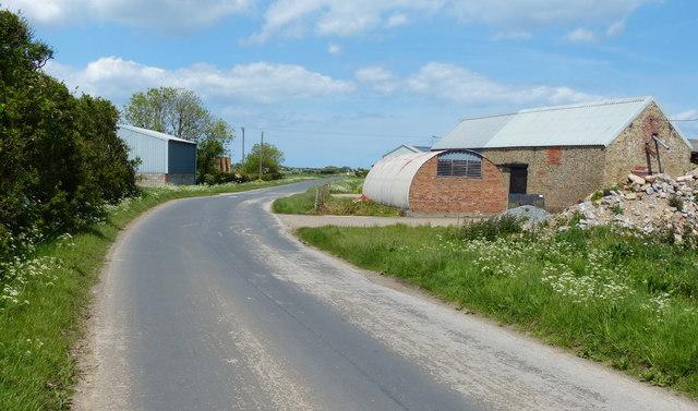 Firtholme Farm along Firtholme Road