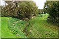 ST5280 : Drainage channel by Poplar Road West by Bill Boaden