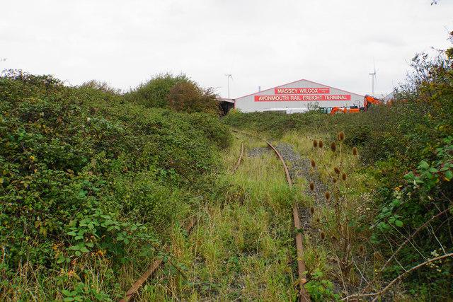 Former railway near Chittening Industrial Estate