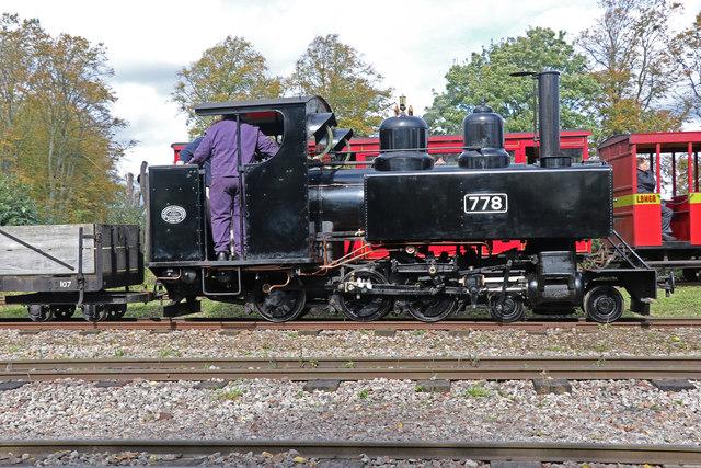 Leighton Buzzard Railway - goods train