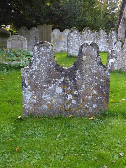 East Malling churchyard: 18th-century headstones (1)