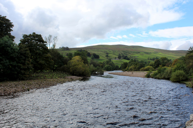 River Swale from Isles Bridge