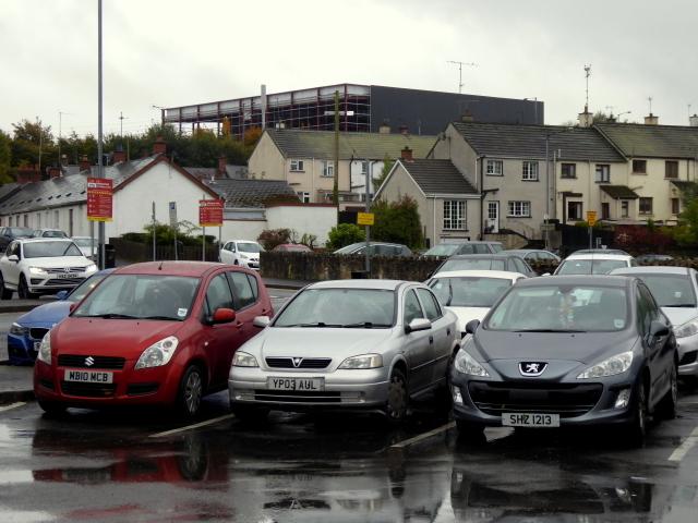 Johnston Park car park, Omagh