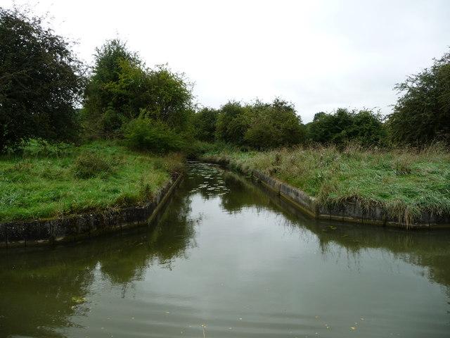 Feeder channel from Saddington Reservoir